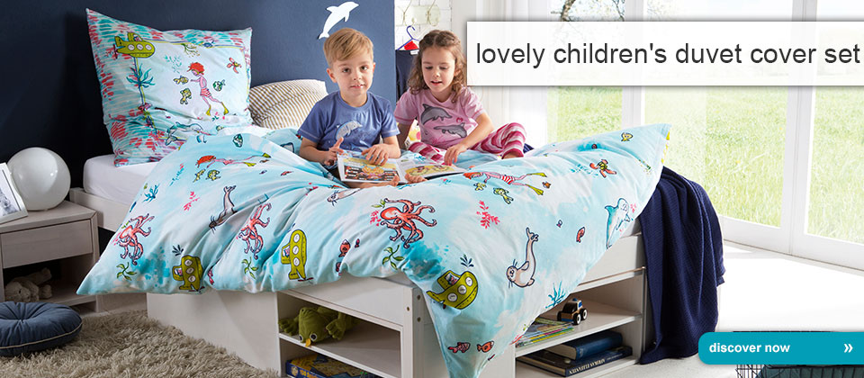 lovely children's duvet cover set