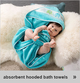 absorbent hooded bath towels