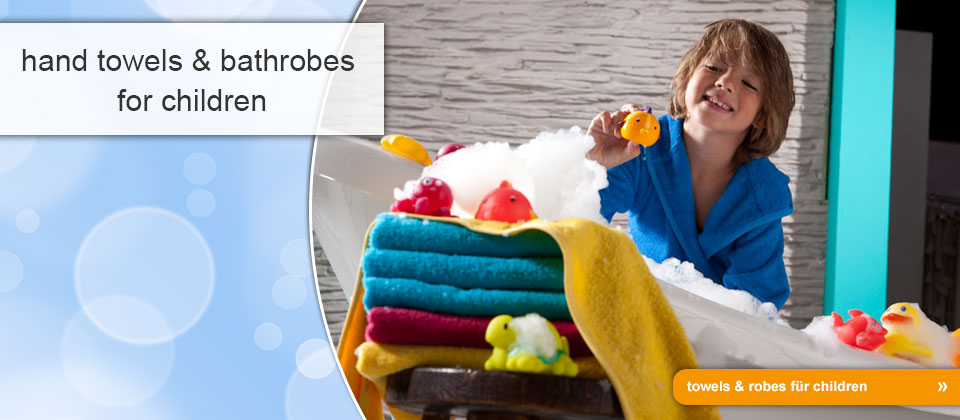 towels & robes for children