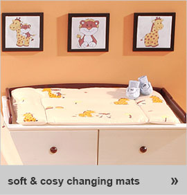 soft & cosy changing mats