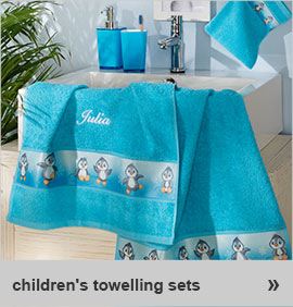 children´s towelling sets