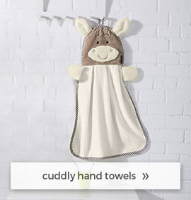 cuddly hand towels