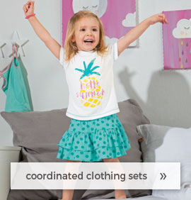 coordinated clothing sets