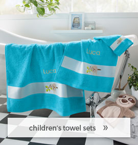 sweet towel sets