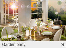 New inspiration for your garden party!